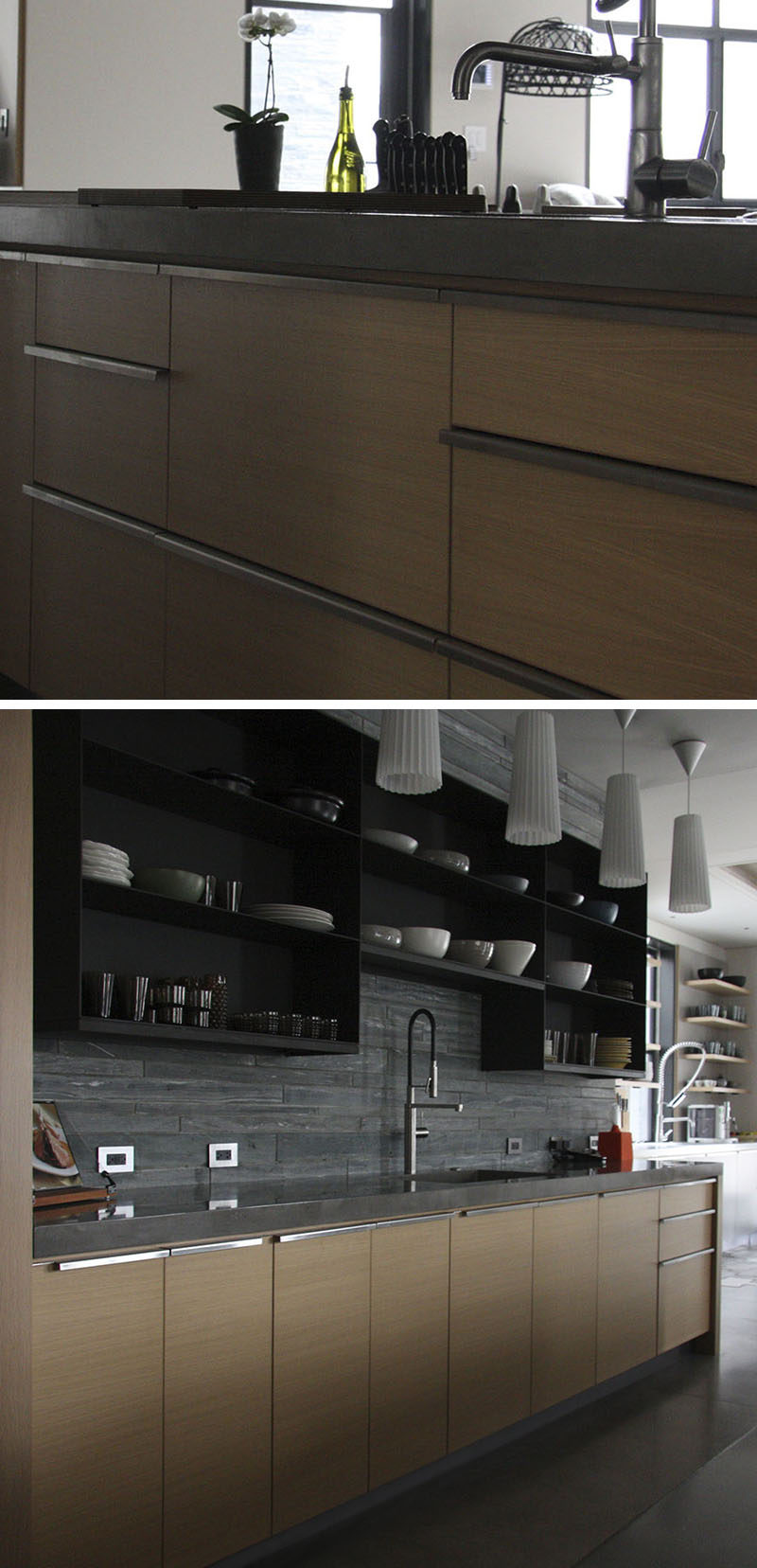 8 Kitchen Cabinet Hardware Ideas // Full Length Pulls