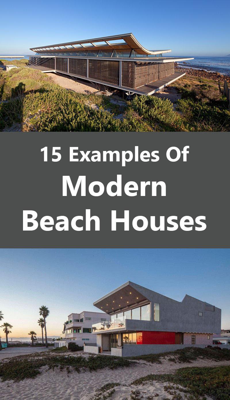14 Examples Of Modern Beach Houses