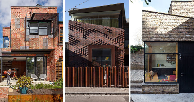 14 Modern Houses Made Of Brick | CONTEMPORIST