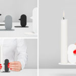 Nose Candle Holders Are Designed To Hold A Candle With Their Nose