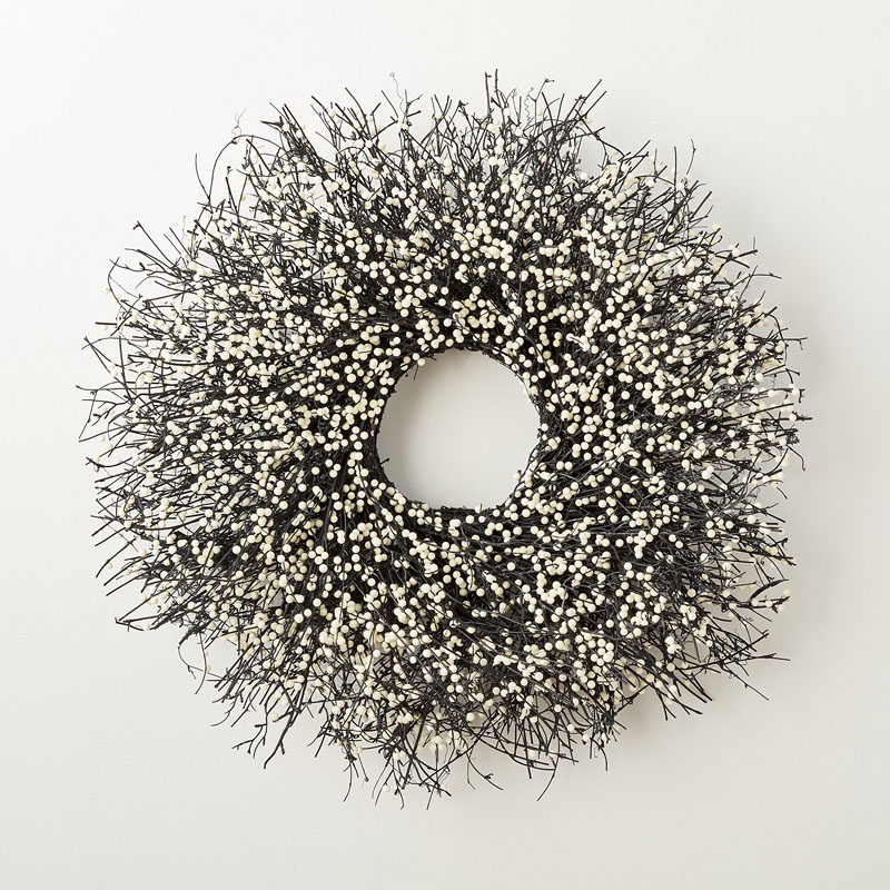 This Full Bod Berry Wreath Would Add A Festive Welcome To Any Front Door