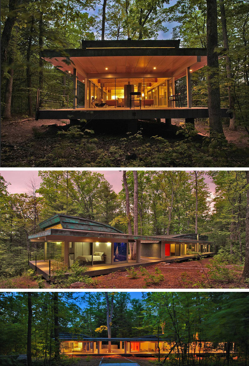forest house architecture 18 modern houses in the forest contemporist 291