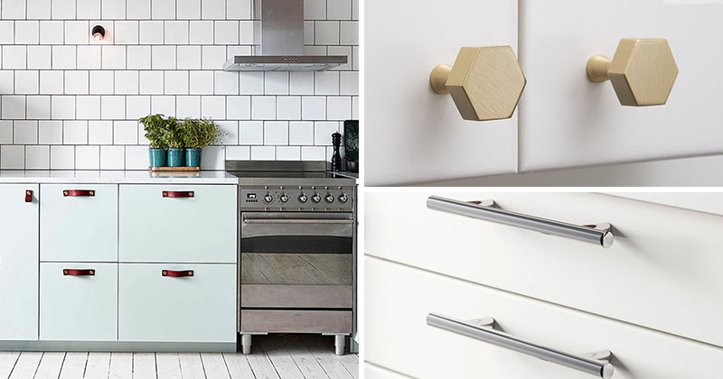 8 kitchen cabinet hardware ideas for your home contemporist - Stylish knob styles that can enhance your kitchen cabinets ...