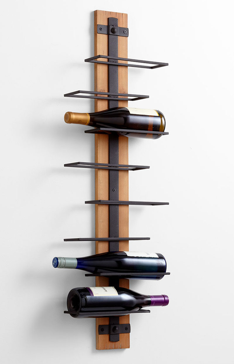 13 wine bottle storage ideas for your stylish home | contemporist