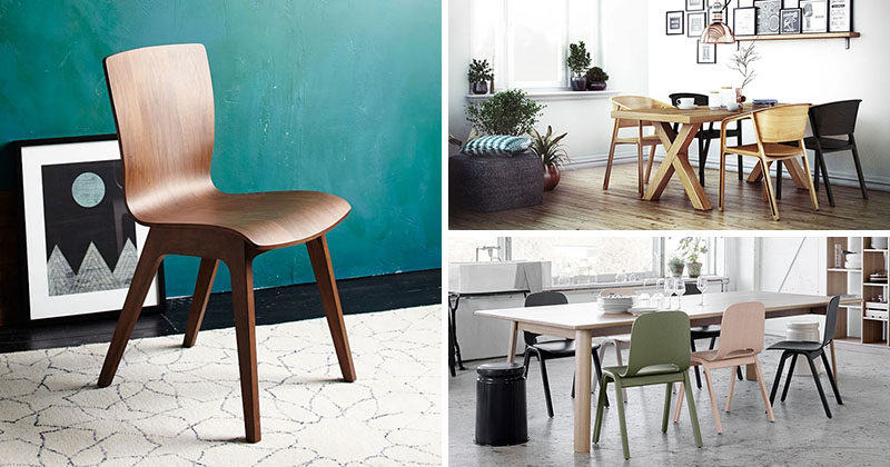 Furniture Ideas - 14 Modern Wood Chairs For Your Dining Room ...