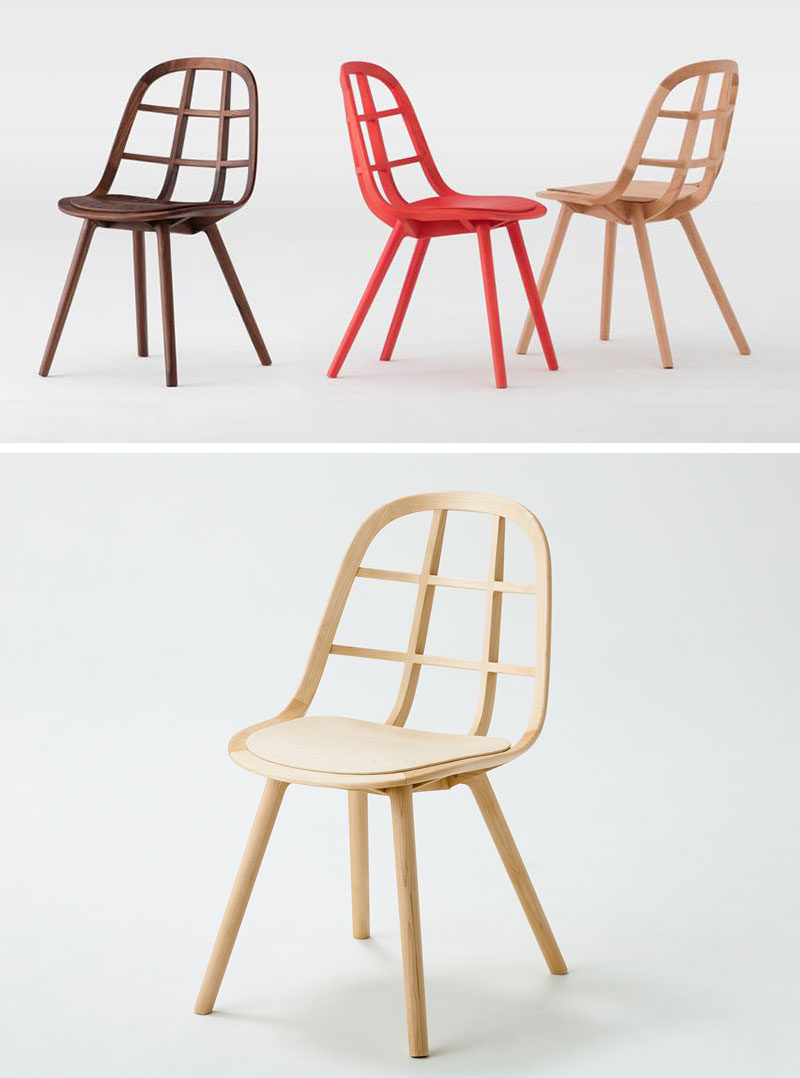 Furniture Ideas   14 Modern Wood Chairs For Your Dining Room // This Simple  Yet