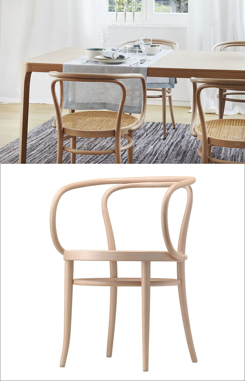 Furniture Ideas   14 Modern Wood Chairs For Your Dining Room // The Smooth  Curves