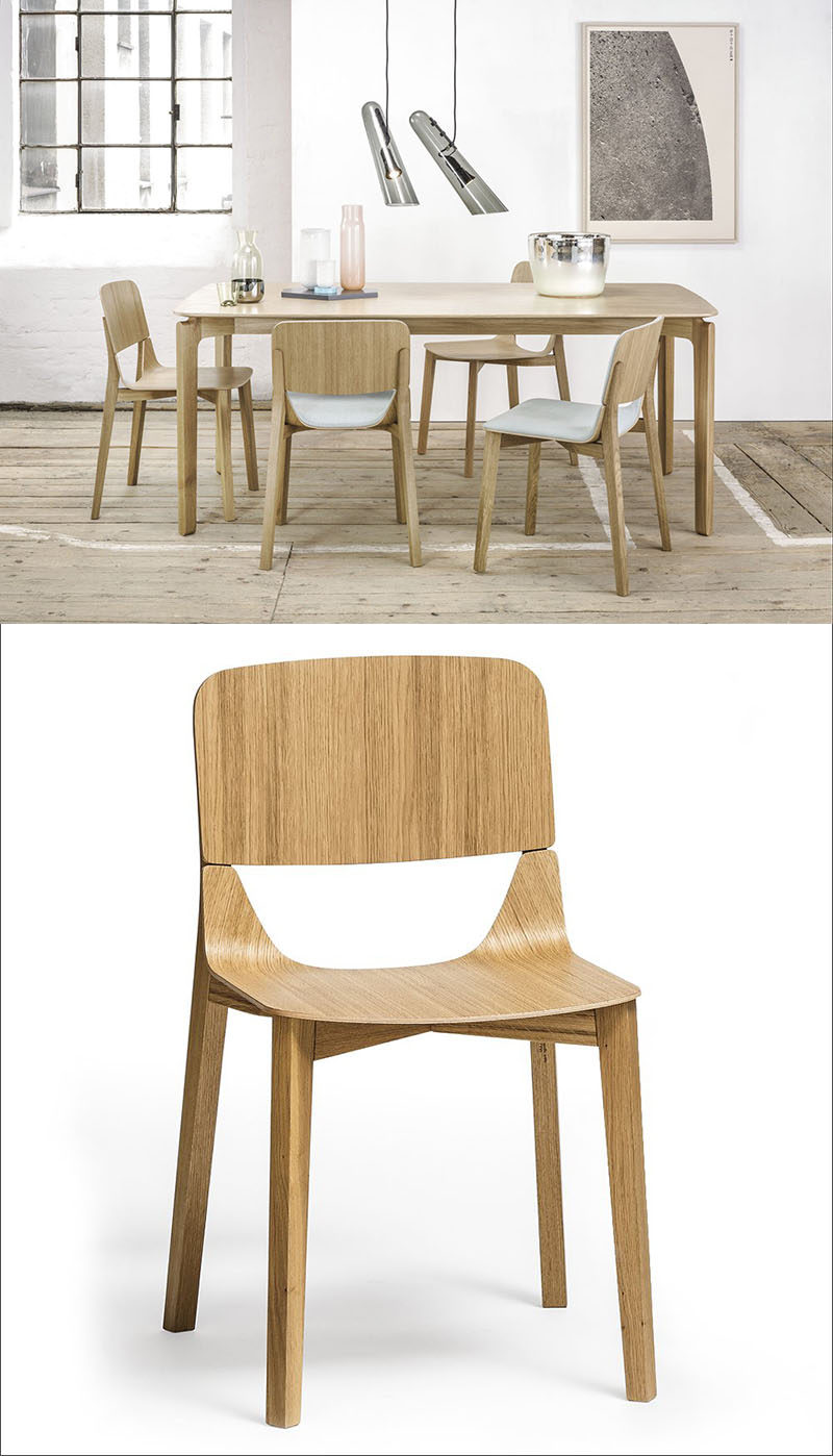 Furniture ideas 14 modern wood chairs for your dining room two pieces of