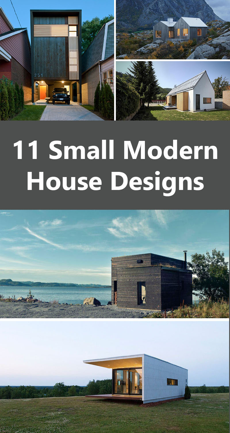 ^ 11 Small Modern House Designs From round he World ONMPOIS