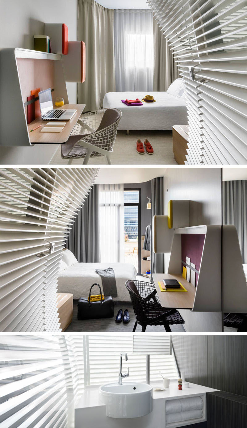 Hotel Bedroom: 8 Small Hotel Rooms That Maximize Their Tiny Space