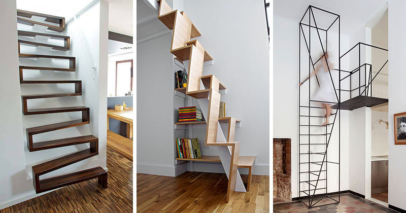 Stairs Design Ideas loft ladders for small spaces stairs for small spaces 13 Stair Design Ideas For Small Spaces
