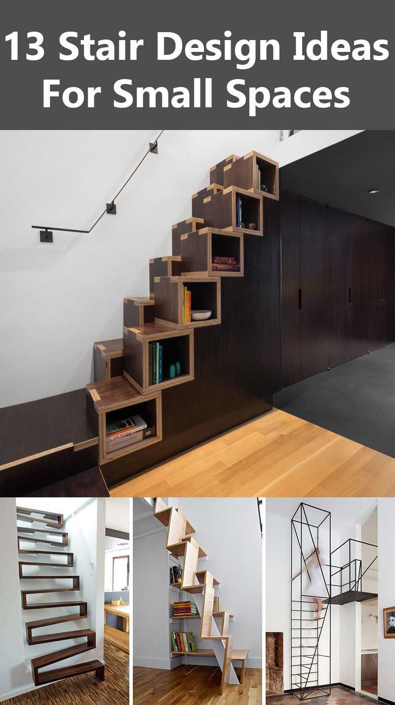 Get The Contemporist Daily Email Newsletter Sign Up Here 13 Stair Design Ideas For Small Es
