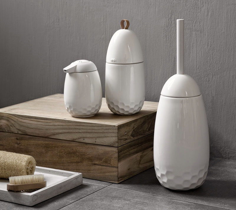 Bathroom Decor Ideas Sophisticated Soap Dispensers This Small White Ceramic Dispenser With