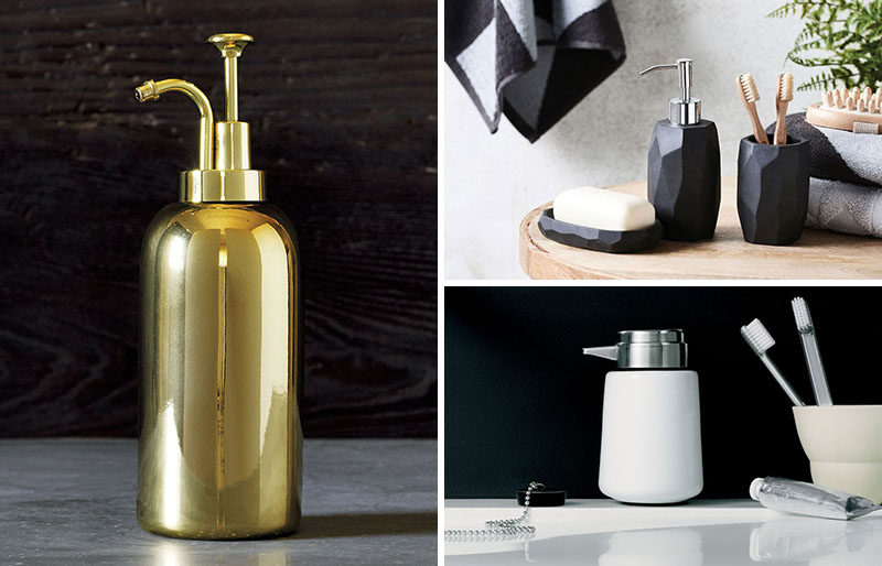 Bathroom Decor Ideas- Sophisticated Soap Dispensers