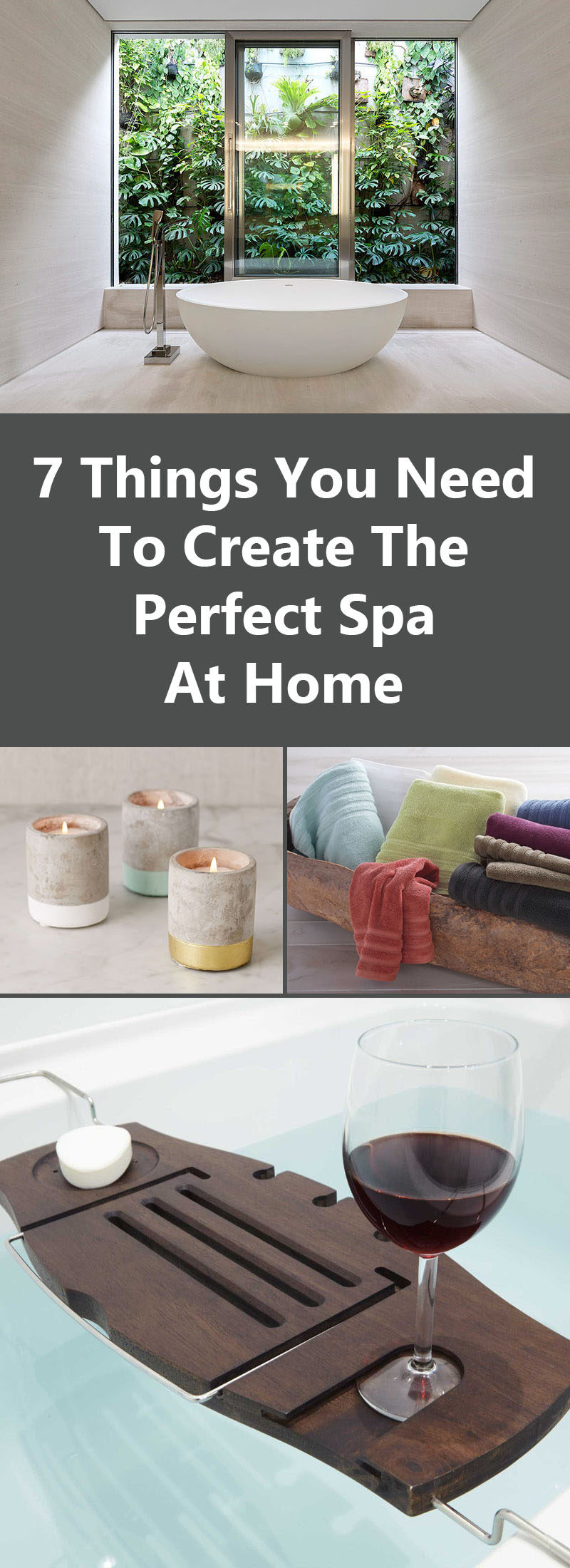 7 things you need to create the perfect spa at home for Home need things