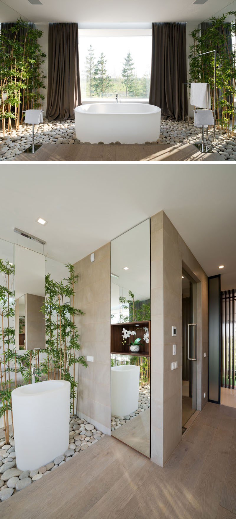 Bathroom Design Idea - Create a Luxurious Spa-Like Bathroom ... on nature kitchen, nature house designs, nature tile designs, nature fence designs, nature doors, nature wall designs, nature jewelry designs, natural stone shower designs, nature decor, nature inspired design, nature office design, nature room, nature baths, nature art, nature bedroom, nature architecture, nature wood burning designs, nature fabrics, nature paint designs,