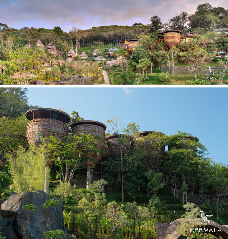 Travel Idea - Tucked into a sloping hillside on the island of Phuket, Thailand sits the Keemala, a luxurious resort getaway designed by Space Architects and Pisud Design Company.