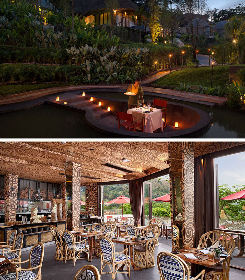 Travel Idea - This Phuket (Thailand) resort has the option of an open-air private dinner.
