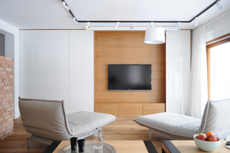 Gentil 8 TV Wall Design Ideas For Your Living Room // The Large TV In This