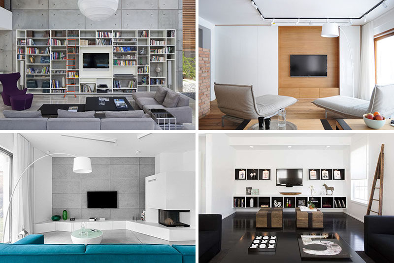 Wonderful 8 TV Wall Design Ideas For Your Living Room