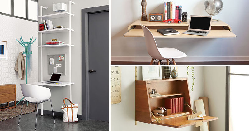 Amazing 16 Wall Desk Ideas That Are Great For Small Spaces