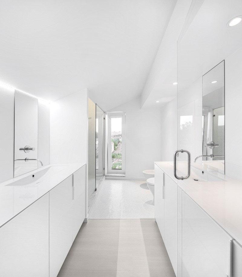 Bathroom design idea create a luxurious spa like bathroom at home contemporist - Cool spa like bathroom designs ...