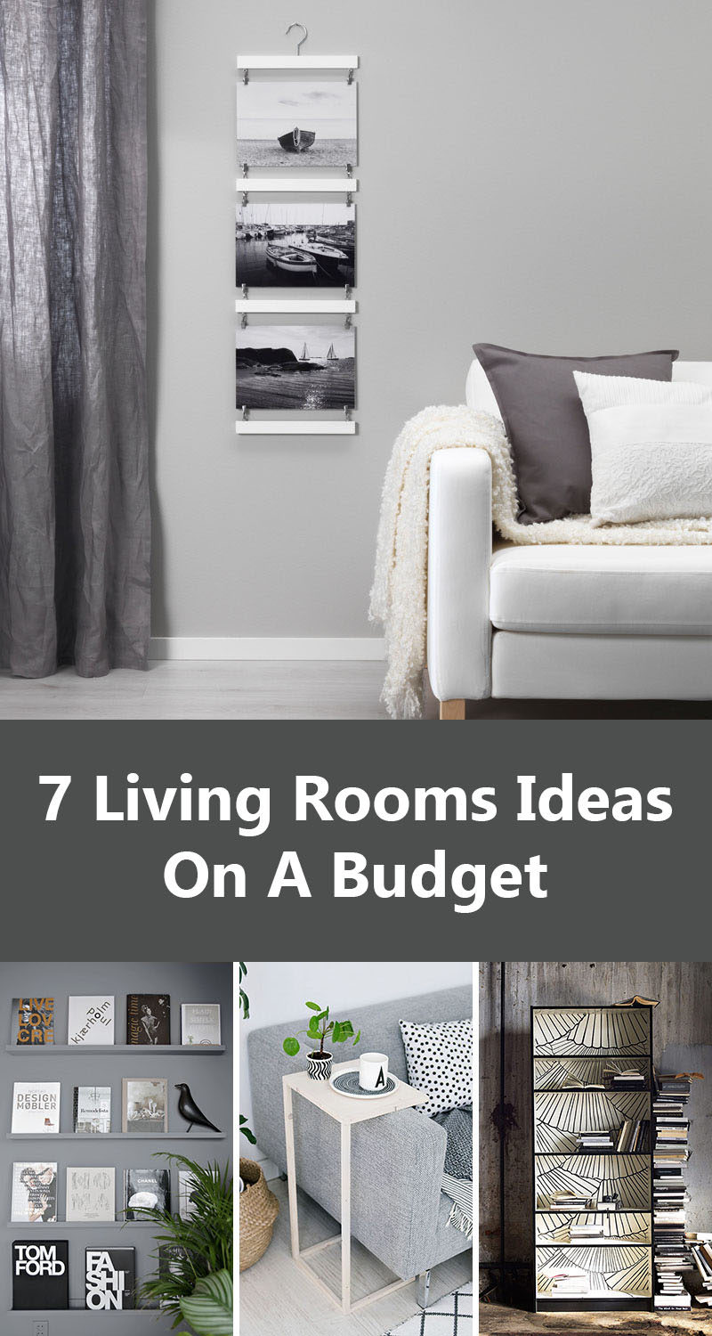 Family Room Design Ideas On A Budget: 7 Living Room Ideas For Designing On A Budget