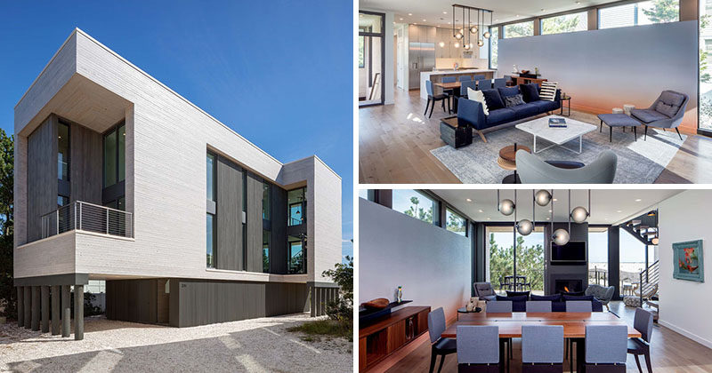 This Modern Beach House Is A Replacement For A Home That Was Destroyed In A Hurricane