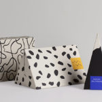 This new collection of gift boxes are covered in contemporary abstract designs