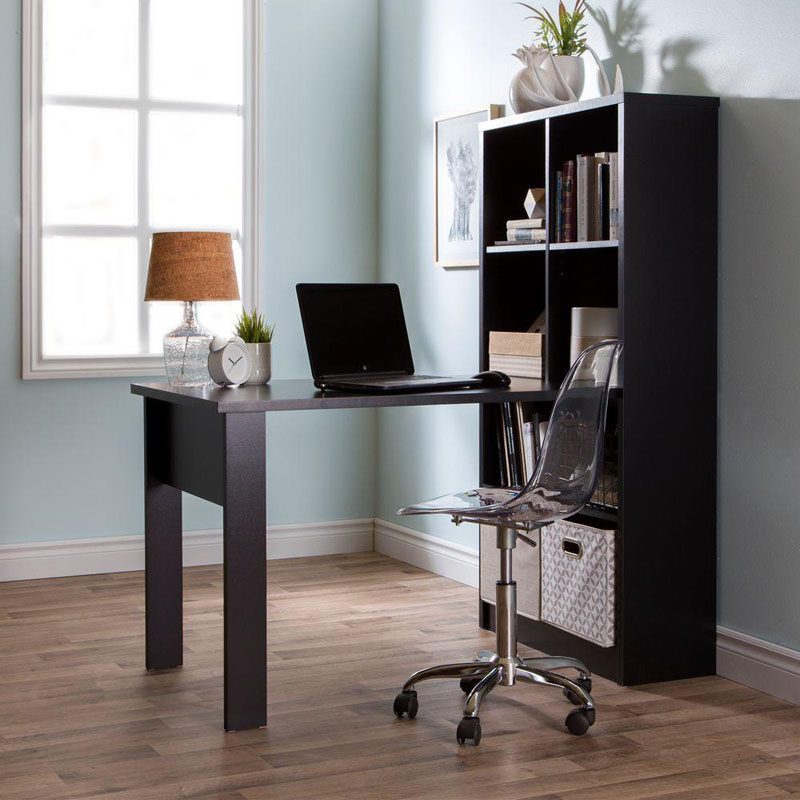 5 Ways To Use Acrylic Decor Throughout Your House // Home Office - An acrylic desk chair gives your office a minimal and stylish look.
