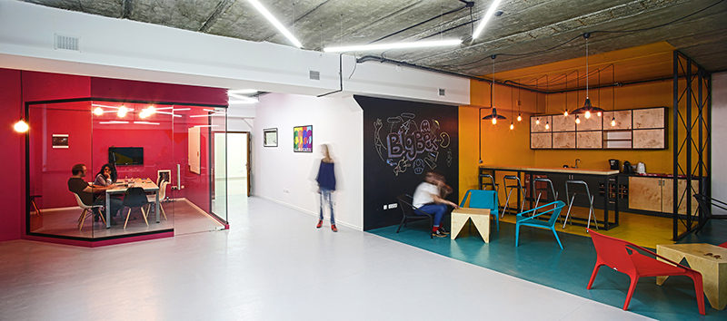 Interior Design Idea - Use Color To Define An Area