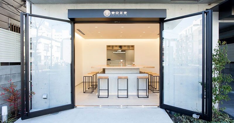 A Minimalist Tea Shop Serving Hand Dripped Green Tea Has Opened In Tokyo
