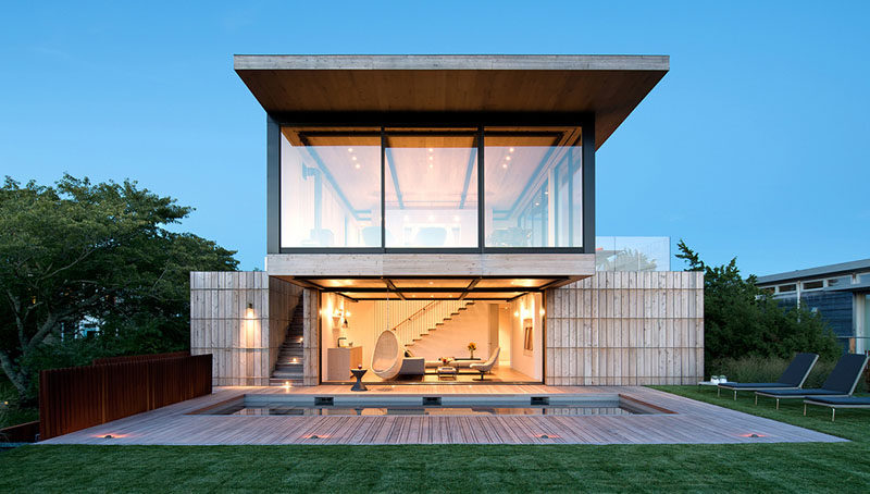 The Design Of This Modern House In New York Was Inspired By The Historic Lifesaving Stations Nearby