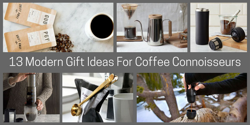 To help you find the perfect gift for the coffee lover in your life, here's a list of 13 modern coffee gift ideas that are sure to impress.