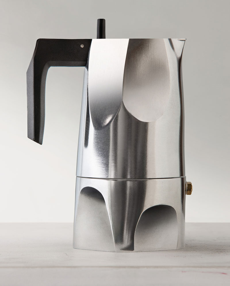 contemporary coffee maker designs that you'll want to show off  -  modern coffee makers that you'll want to show off  this moka