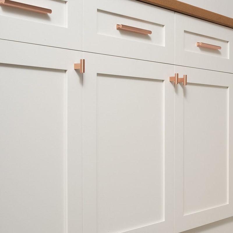 Copper Kitchen Cabinet Handles