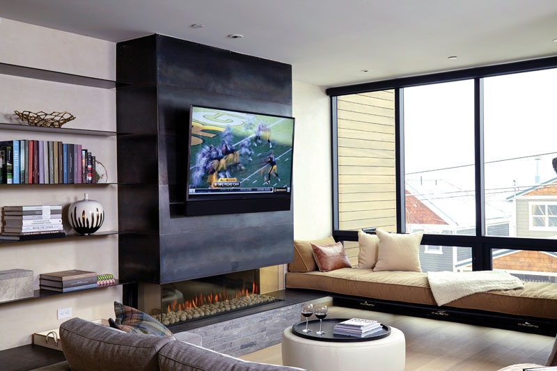 Opening Up Fireplace Design Possibilities With Ortal S Cool Wall Technology