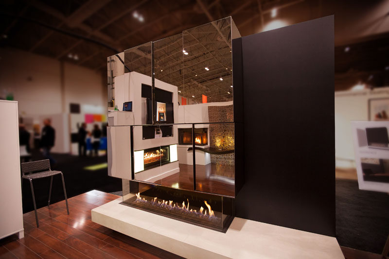 Opening Up Fireplace Design Possibilities With Ortal S