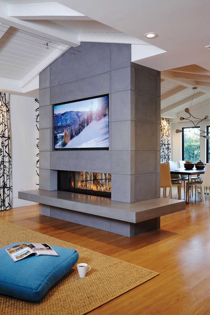 contemporist opening up fireplace design possibilities with