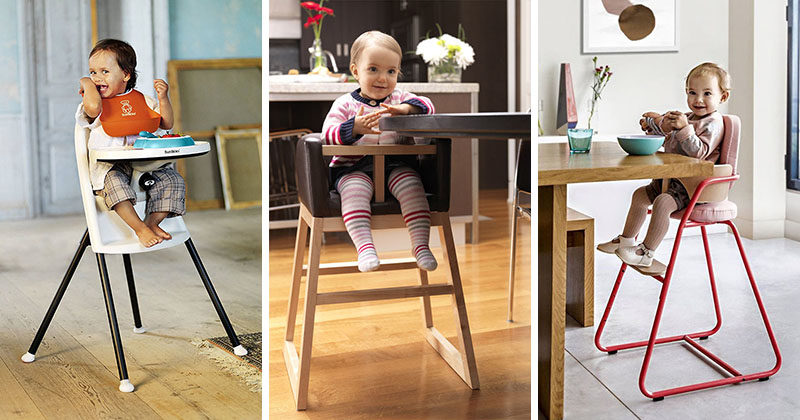 14 Modern High Chairs For Children
