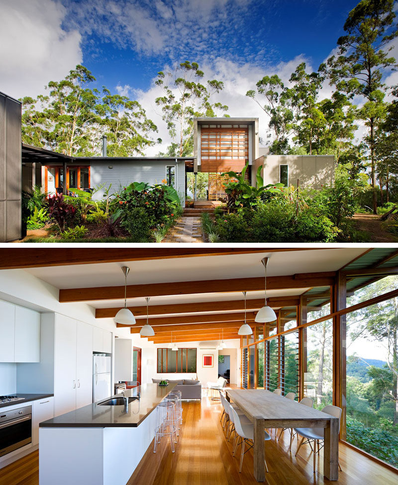 Home Design Ideas Australia: Contemporary Queenslander Homes Designs
