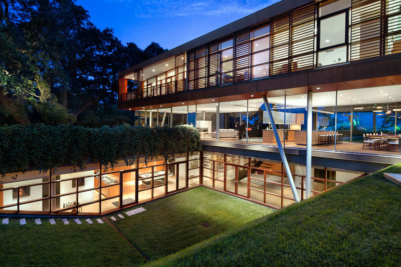The Home Is Split Into Three Diffe Levels A Main Living Dining And Kitchen