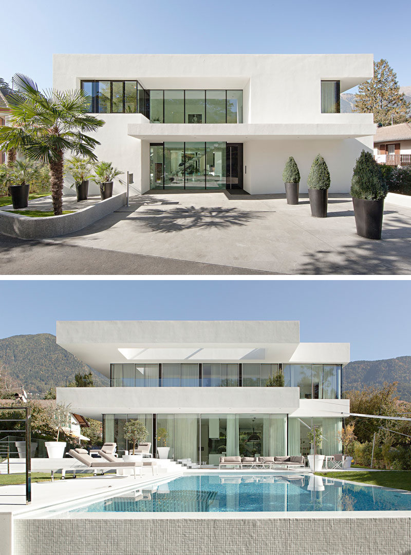 house exterior colors - 11 modern white houses from around the