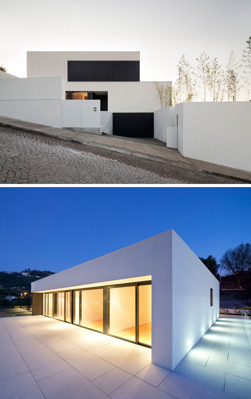House Exterior Colors - 11 Modern White Houses From Around The World // The  clean