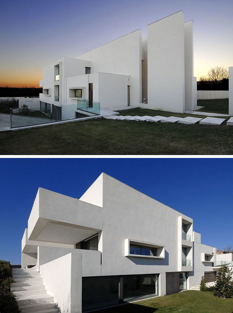 House exterior colors 11 modern white houses from around for House and home exteriors