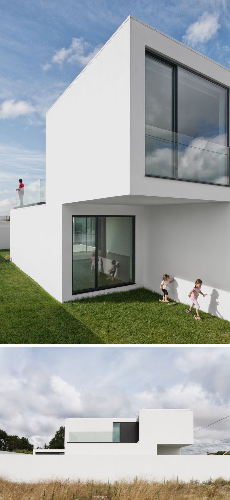 House Exterior Colors - 11 Modern White Houses From Around The World //  Other than