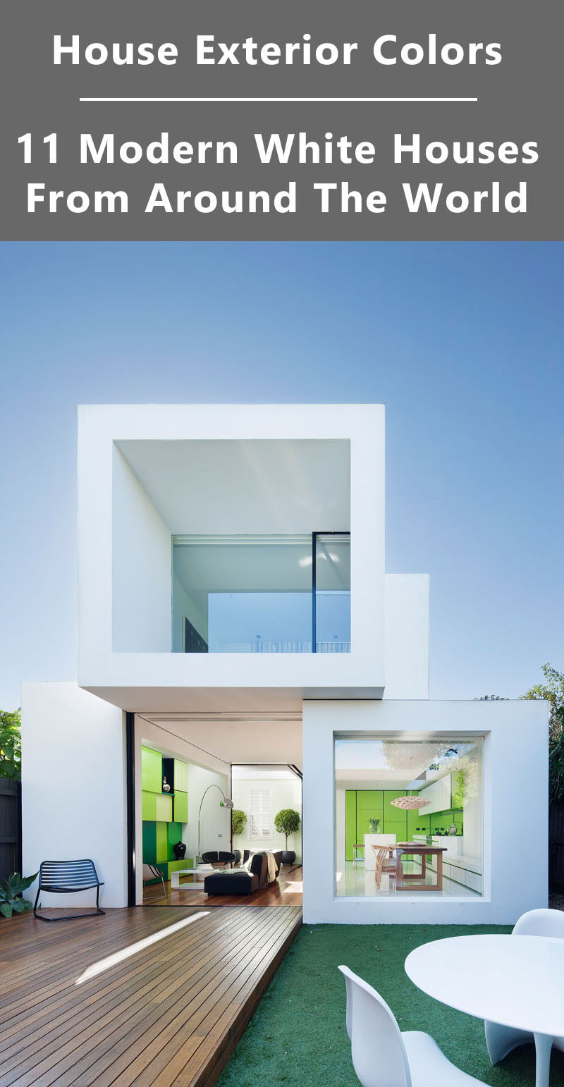 House Exterior Colors - 11 Modern White Houses From Around The World