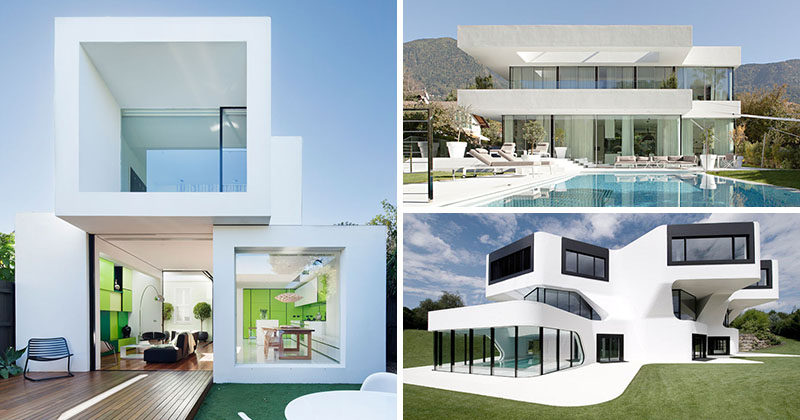 House Exterior Colors – 11 Modern White Houses From Around The World
