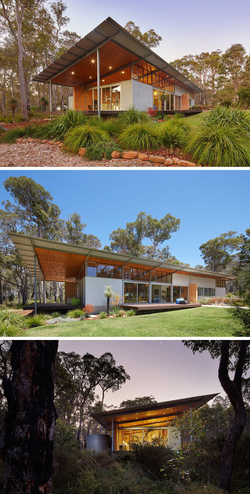 16 Examples Of Modern Houses With A Sloped Roof Contemporist