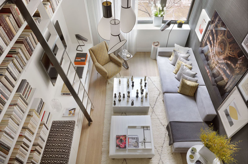 Interior Design Ideas   17 Modern Living Rooms As Seen From Above | The  Angular Furniture